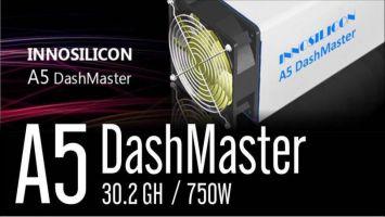 Майнер Innosilicon A5 Dashmaster X11