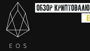 Обзор криптовалюты и платформы для смарт-контрактов EOS