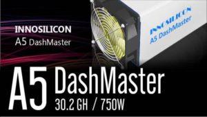 Innosilicon A5 Dashmaster X11
