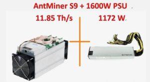 Antminer S9 характеристики