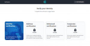Как пройти верификацию на CEX.io